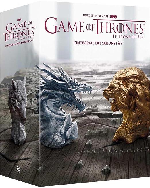 Game of Thrones Le Trône de Fer - Lintégrale des saisons 1 à 7 DVD: Amazon.es: Sean Bean, Mark Addy, Alfie Allen, Peter Dinklage, Aidan Gillen, Kit Harington, Jason Momoa, Isaac Hempstead-Wright,