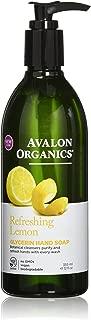 product image for Avalon Organics Glycerin Liquid Hand Soap Lemon -- 12 fl oz
