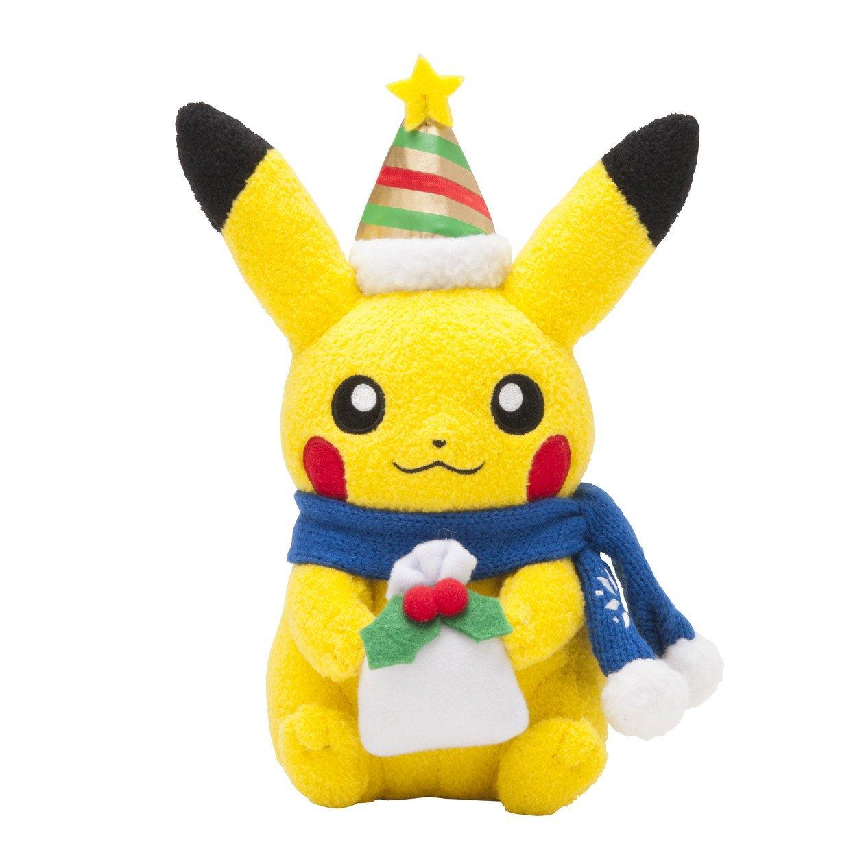 Pokemon Center Pikachu Christmas 2013 Peluche