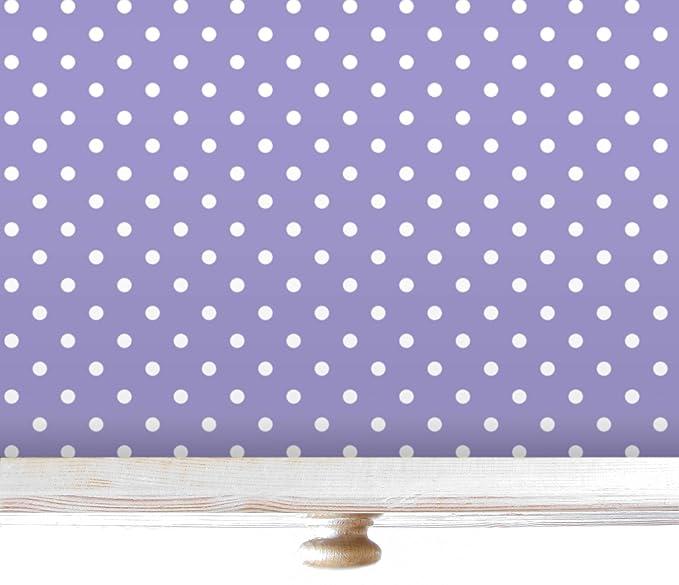 Papel de lunares para forrar cajones y estantes5 láminas.Fabricado en Suffolk, Inglaterra.: Amazon.es: Hogar