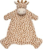 Suki Baby Bing Bing Soft Boa Plush Baby's Blankie with Embroidered Accents (Giraffe)