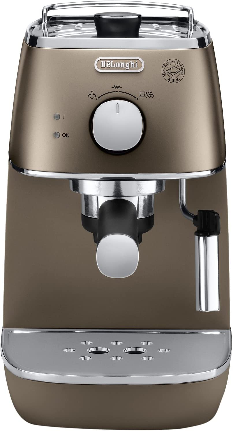 DeLonghi Distinta Cafetera Espresso manual para café molido y ...