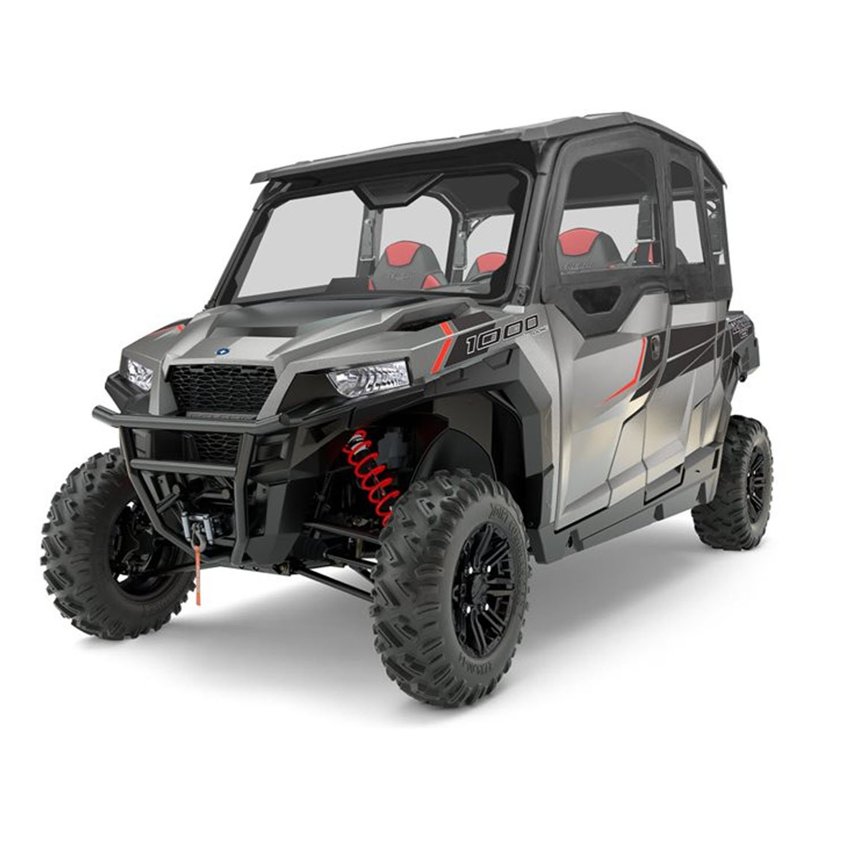 Polaris New OEM UTV Black 4-Seat Sport Poly Roof, General, 2883781