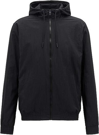 Hugo Boss Zinc Full Zip Black Hoodie S Black