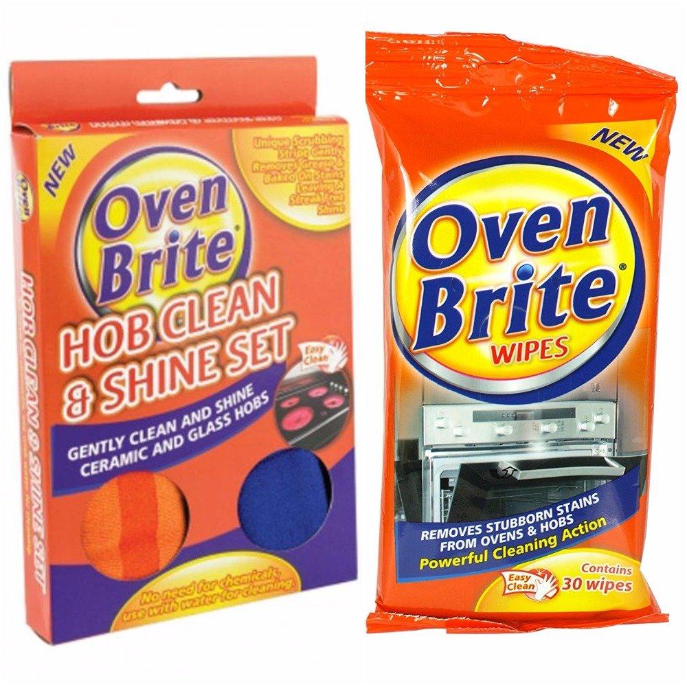 Nuevo horno Brite cocina limpia y brilla Set + 30 toallitas ...