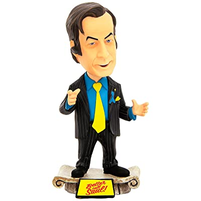 "Mezco Toyz Breaking Bad 6"" Saul Goodman Bobblehead Toy: Toys & Games"