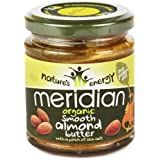 (2 PACK) - Meridian Organic Smooth Almond Butter 100%| 170 g |2 PACK - SUPER SAVER - SAVE MONEY