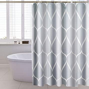 BRAND NEW SOLID SOLID 1-PC WATER REPELLENT BATHROOM SHOWER CURTAIN LINER PE