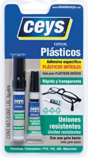 Ceys CEY400504114 Adhesivo Instantáneo Especial Para Plásticos Difíciles