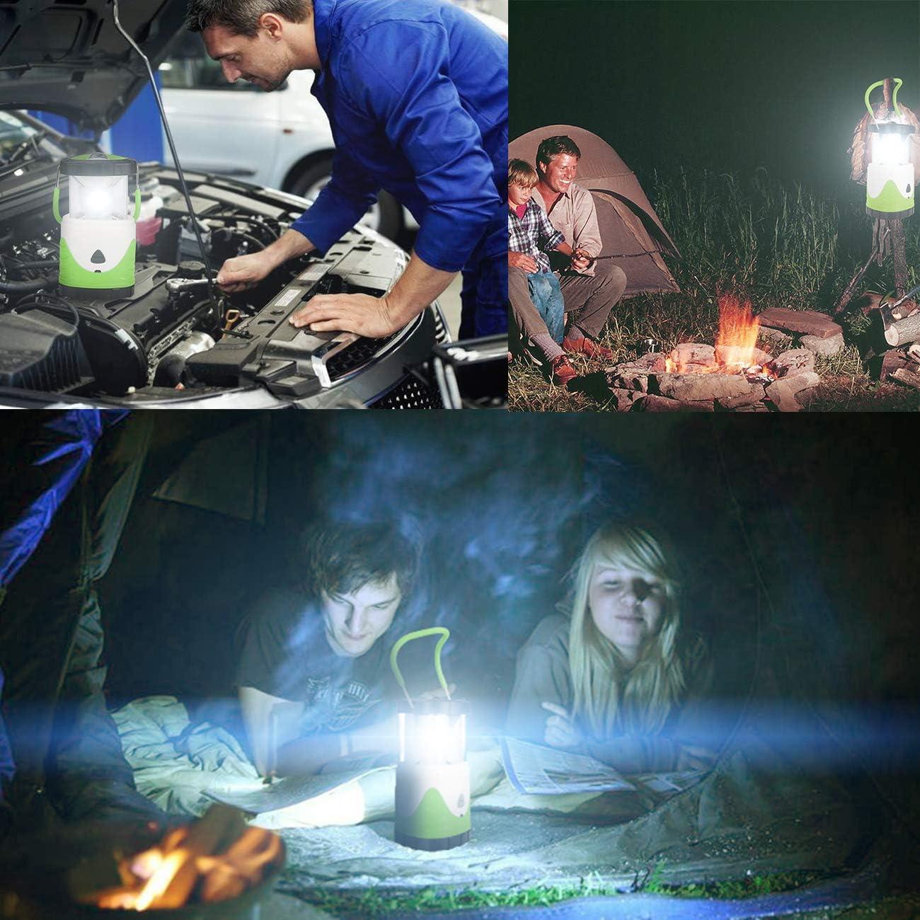 vert les coupures de courant et plus Denavo LE Lampe de camping LED dext/érieur 1000 lumens 4 modes /à piles R/ésistant /à leau Lampe durgence pour la randonn/ée la p/êche