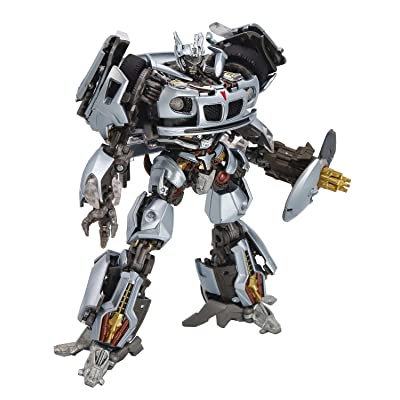 Hasbro Transformers Masterpiece Movie Series Mpm-9 Jazz, Multicolor: Toys & Games