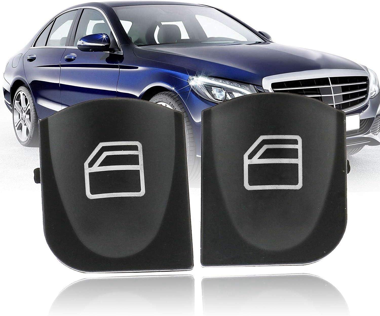 2038200110 Semoic Couverture DInterrupteur de Fen/être Principale Capuchons pour Mercedes W209 A2038210679