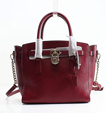 b4e1d5137ee6c MICHAEL Michael Kors Studio Hamilton Large East West Satchel (Mulberry)