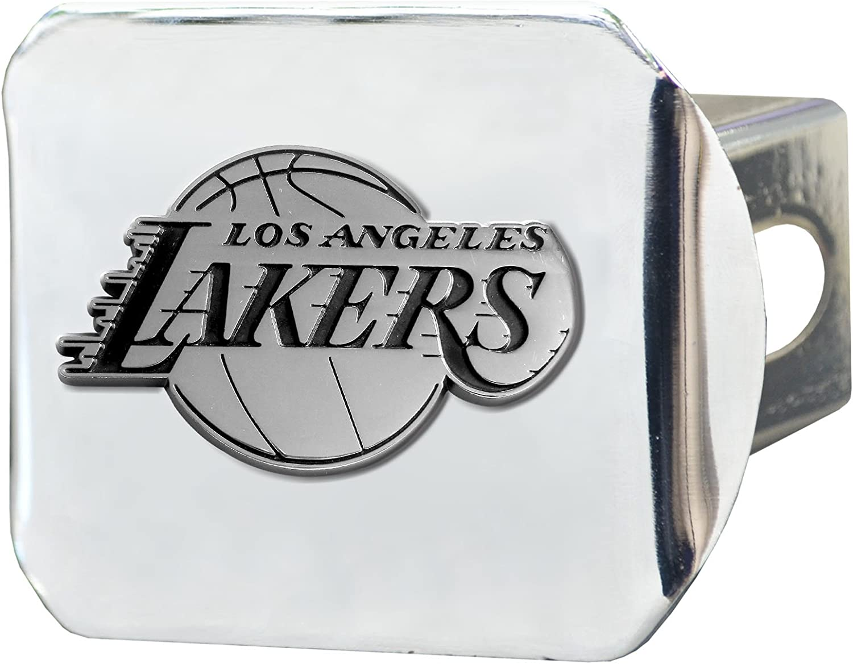"FANMATS NBA - Sports Team Logo Hitch Cover 3.4""x4"""