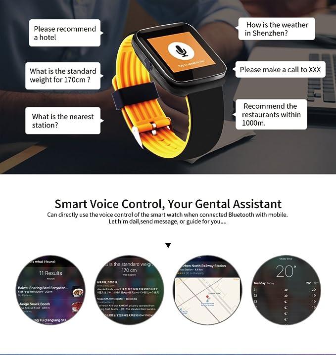 Johnson Smart Pulsera Color pantalla llamada pulsera corazón Frecuencia Bluetooth llamada Bluetooth Música Soporte Anti de pérdida de información Push, ...