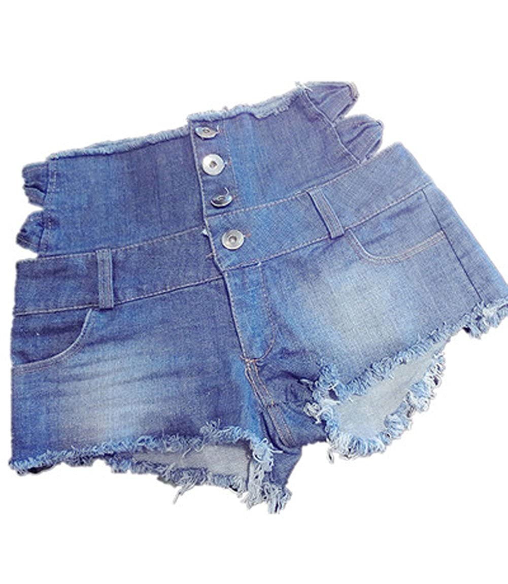 4eb006235ac6 NW Women's Low Waist Sexy Denim Short Hot Pants Sexy Mini Jeans Shorts  (Large): Amazon.ca: Clothing & Accessories