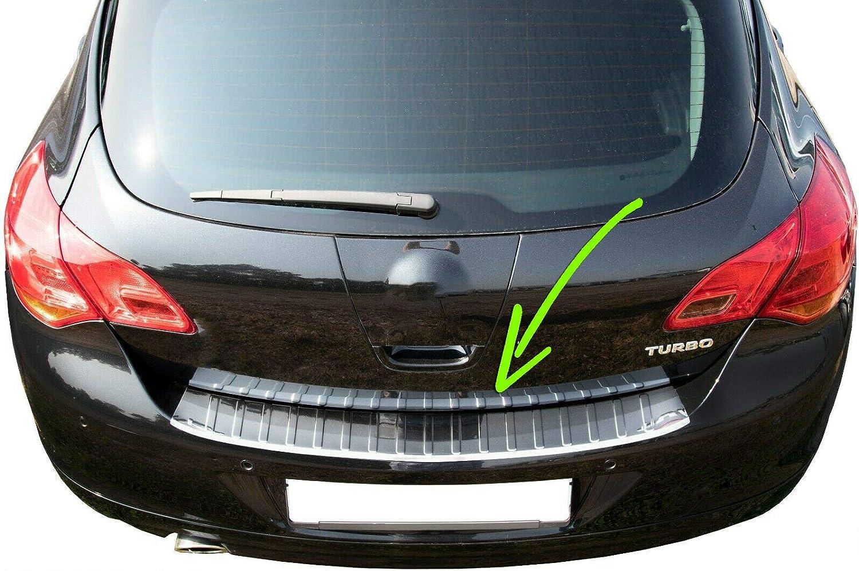 Protezione paraurti posteriore per ASTRA J 2010-2015 HB in acciaio inox cromato protezione per bordo del bagagliaio di carico