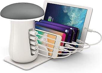 ONLT Lámpara Escritorio LED,Lámpara de Mesa USB regulable ...