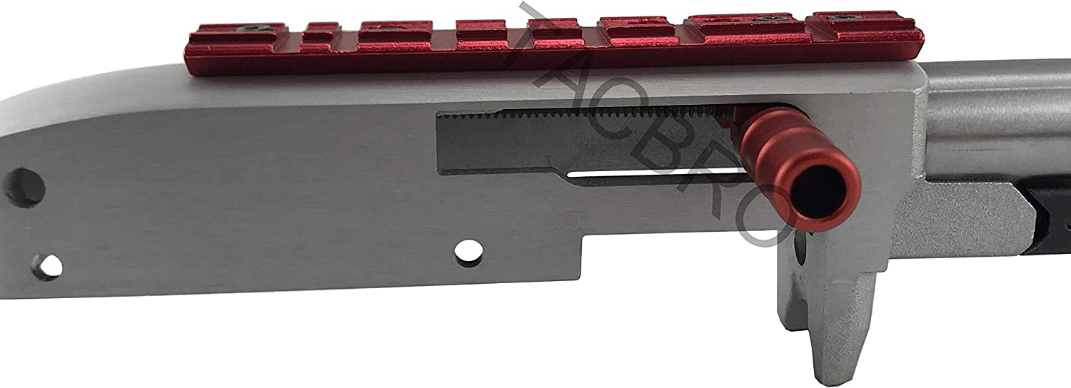 New Anodized Blue Low Profile Scope Mount Weaver and Dovetail For Ruger 10//22