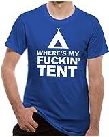 Loud Distribution Loud Clothing - Where's My Tent Logo Men's T-Shirt