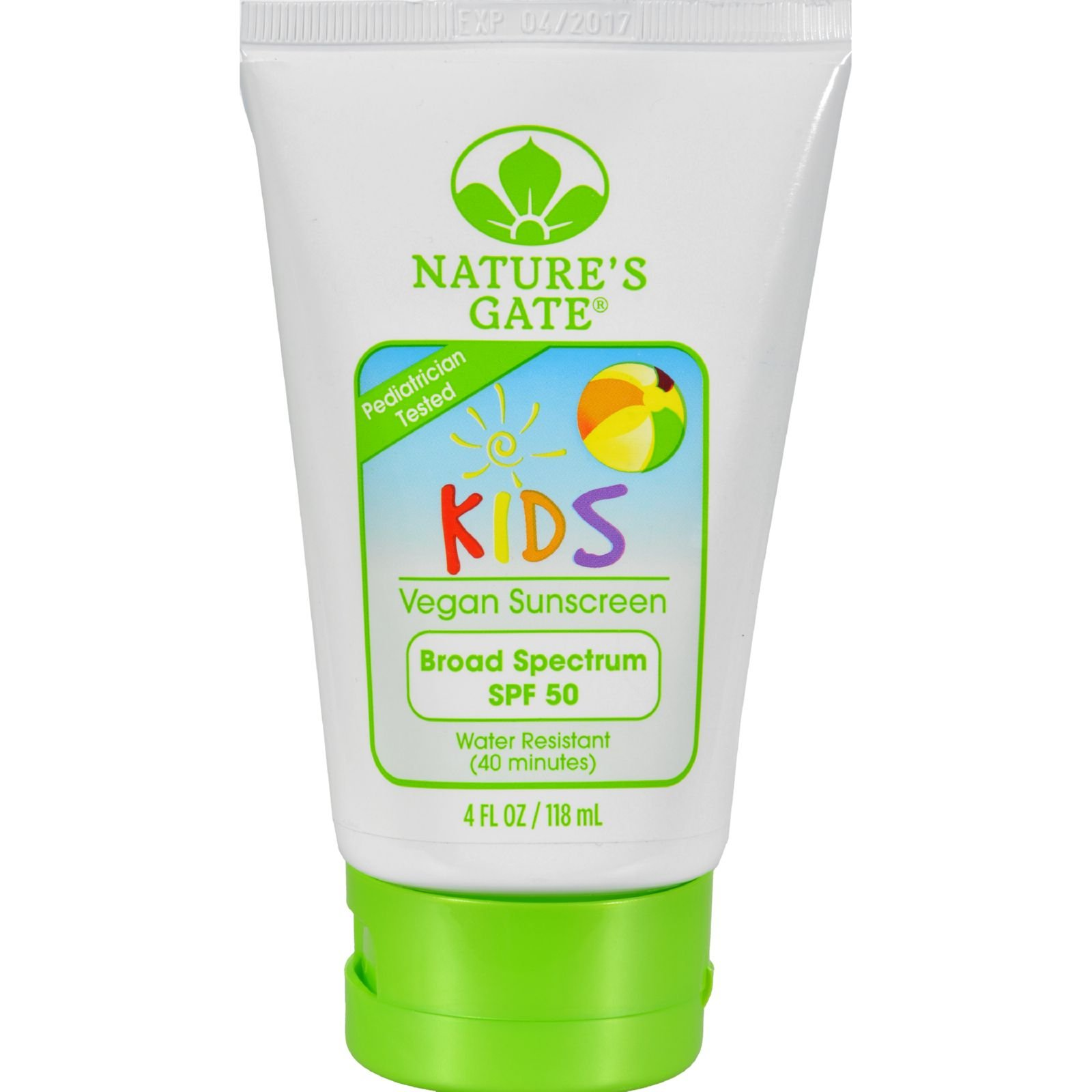 Nature S Gate Kids Vegan Sunscreen