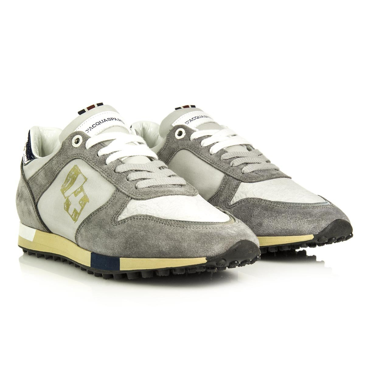 D'Acquasparta Zapatillas Para Hombre 44 EU|gris perla