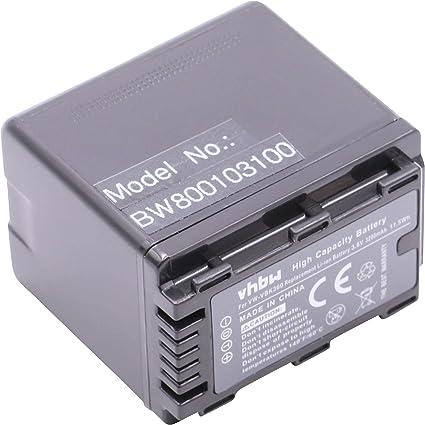 LADEGERÄT für PANASONIC HDC SD40 SD66 SD80 SD99 AKKU