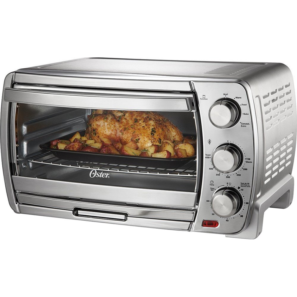 Oster VSK01 Extra Large Countertop Convection Oven, 18.8 x 22 1/2 x 14.1, Stainless Steel