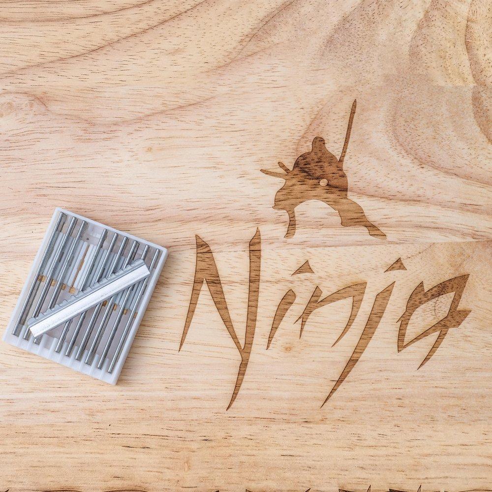 Amazon.com : Ninja Shuriken Hair Styling Razor Blades : Beauty
