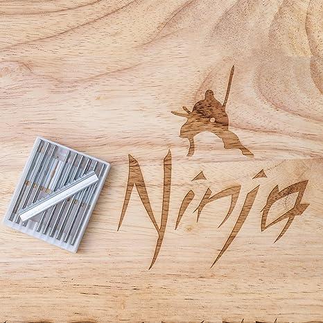 Ninja Shuriken - Cuchillas de afeitar para cabello: Amazon ...