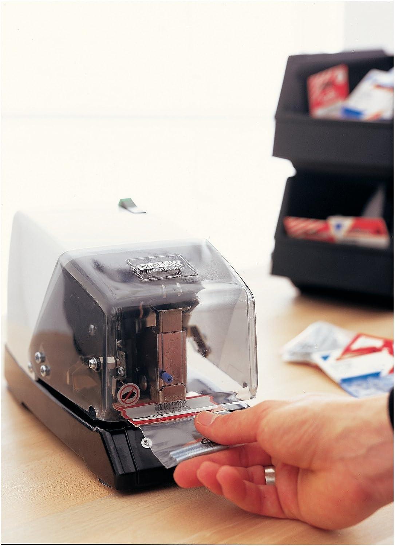 Elektronik 10801931 Rapid Elektroheftger/ät Heftklammertyp 44 Metall mit Kunststoffgeh/äuse 50 Blatt Wei/ß//Schwarz 100E
