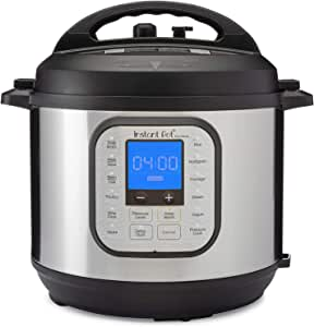 Instant Pot Pressure Cooker (Renewed) Duo Nova 6-QT Stainless Steel/Black