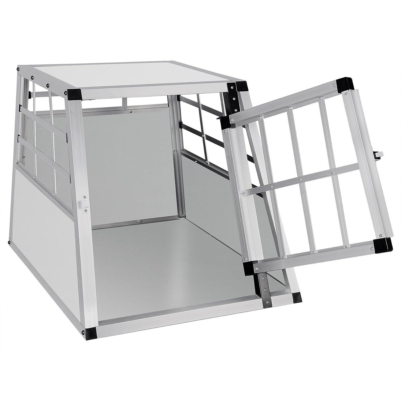 EUGAD Hundebox Transportbox Hundetransportbox Aluminium 1 T/ürig Reisebox Gitterbox Box Farbwahl EHT468