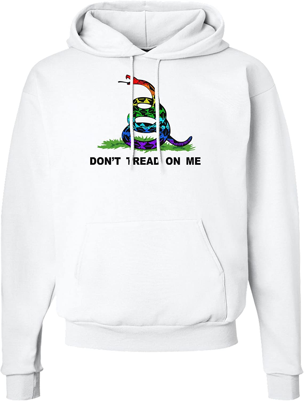 LGBT Freedom Rainbow Dont Tread on Me Hoodie Sweatshirt
