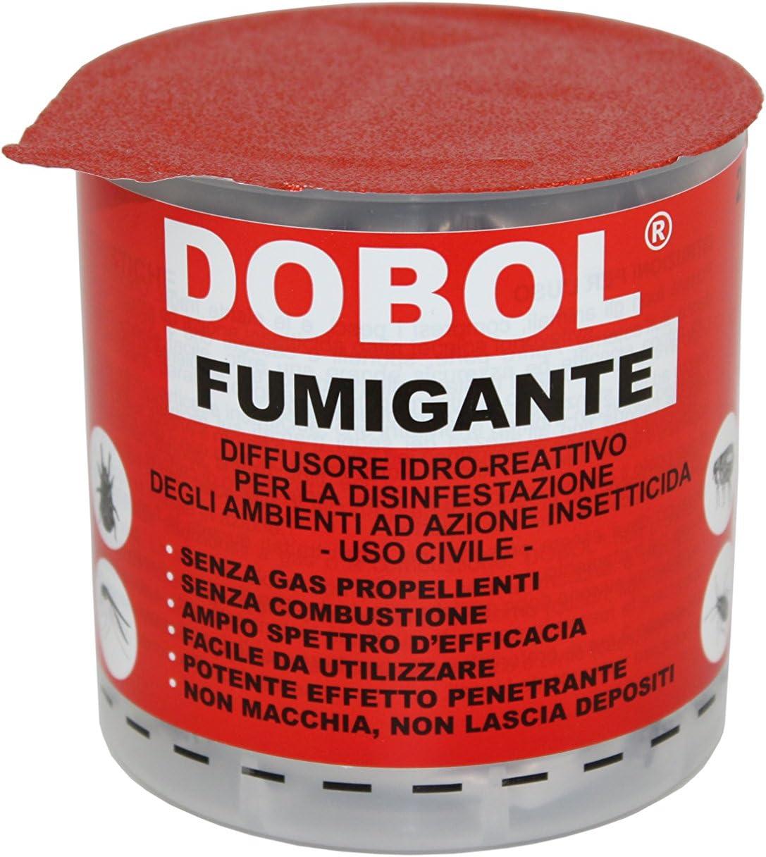 Dobol — Bote de insecticida fumigante,20 g/ hasta 250 m³ - desinsectador de gas humo