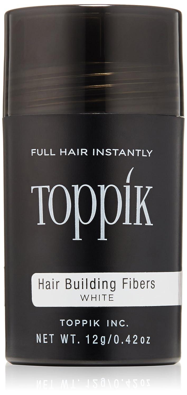 Toppik Fibras Capilares, Color Castaño Claro - 12 gr Inc. TPK12A