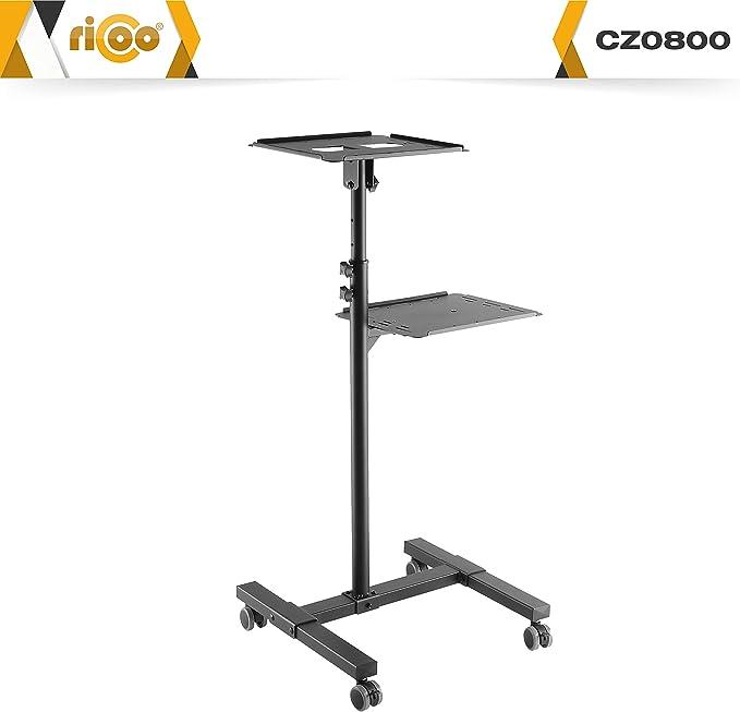 RICOO Mesa portatil Ordenador PC y Video-proyector CZ0800 Soporte ...