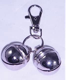 Falconry Lahore Nickel plated Bells (pairs)(size 7): Amazon