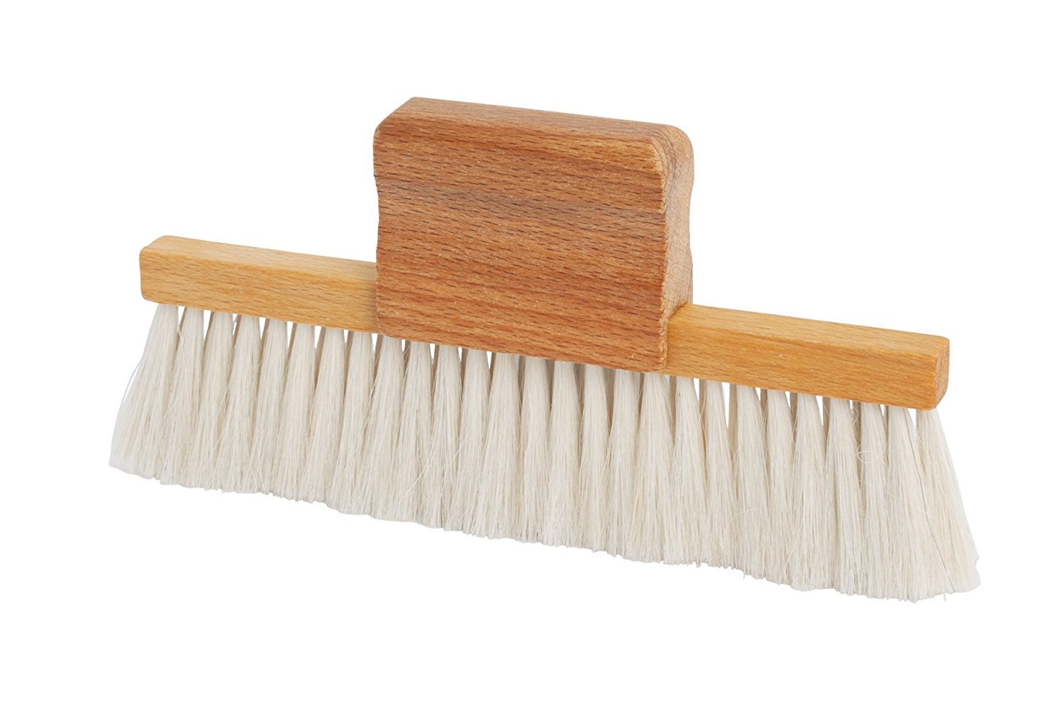 Bü rstenhaus Redecker Goat Hair Table Brush with Oiled Beechwood Handle, 5-7/8-Inches by 3-Inches Bürstenhaus Redecker GmbH Germany 420115