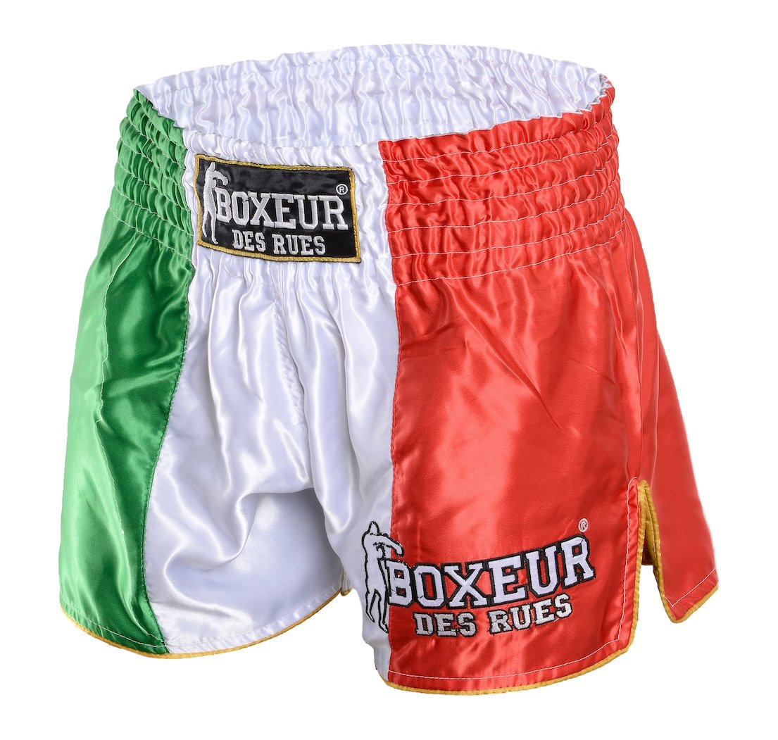 Kick//Thai Shorts Tribal Symbols Shorts Man Boxeur Des Rues