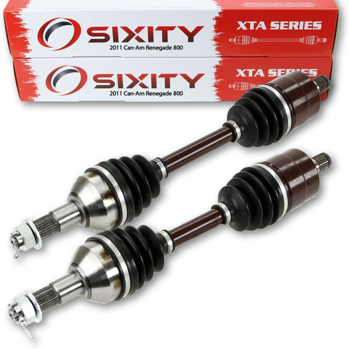 Sixity XT CV Axle for Polaris 1332935 OEM Replacement Front Rear Left Right Driver Passenger Side Back
