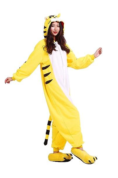 YUWELL Kigurumi Pijamas Unisex Cosplay Animal Traje Disfraz Pyjamas Onesie: Amazon.es: Ropa y accesorios