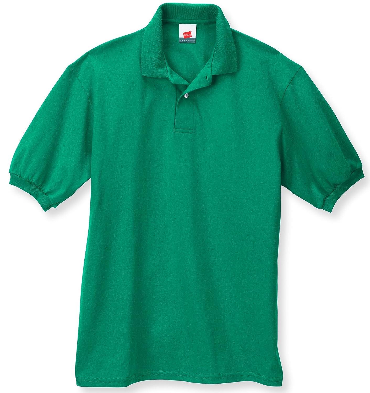 Hanes Adult EcoSmart Jersey Polo Heritage Sportswear 054X