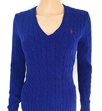 quality design 84892 66288 Original Ralph Lauren Damen Kabel Knit Jumper Pullover ...