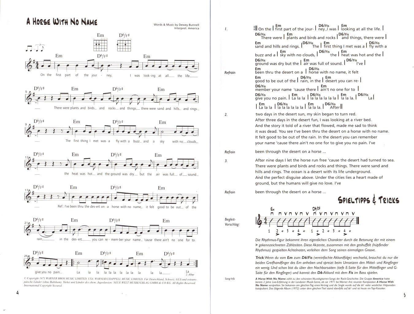 take three - Libro de partituras para 3 acordes (101 canciones ...