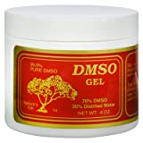 DMSO Gel 70/30 - Unfragranced - 4 oz - 99% Pure