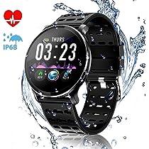 CanMixs Pulsera de Actividad Smartwatch, CM10 Pulsera Inteligente ...