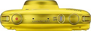 Nikon COOLPIX S33 + Selfie stick Fotocamera compatta 13.2MP 1/3.1' CMOS 4160 x 3120Pixel Giallo