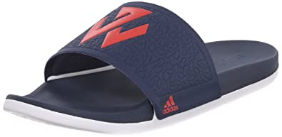separation shoes a37b6 82aa5 adidas Performance Adilette John Wall Sandals,Silver Scarlet Collegiate  Navy,13 M