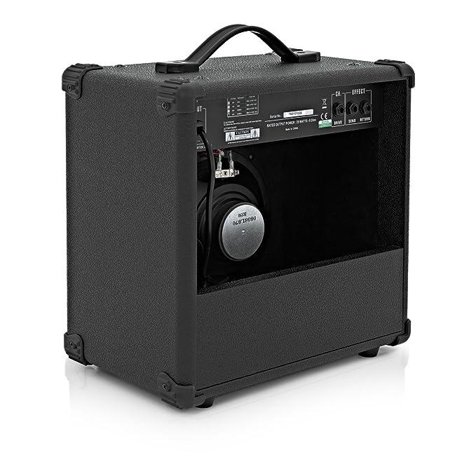 Amplificador de Guitarra Eléctrica de Gear4music - 25W: Amazon.es: Instrumentos musicales